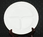 Bailey Walker Vitrified White Restaurant Ware Grille Plates