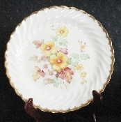 Royal China Co. 1940's California Morn Bread & Butter Plates