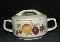 Lenox Summer Harvest Temperware Covered Sugar Bowl