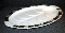 Inland Glass Eames Era Retro Atomic White Milk Glass Platter