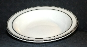 Buffalo China Restaurant Ware Black Banded Rimmed Soup Bowls