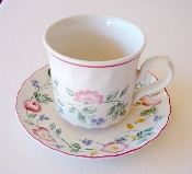 Churchill China Briar Rose Cup & Saucer Sets