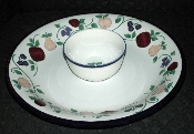 Princess House Orchard Medley Chip & Dip Set