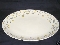 Pottery Barn Winter Caribou Oval Serving Platter