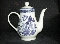 Royal Cuthbertson Willow Blue Coffee Pot