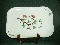 Weil Ware Fantasia Green Serving Platter Tray