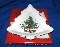 Nikko Christmastime Christmas Tree Platter Cookie Tray