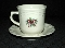 Pfaltzgraff Stoneware Red Ribbon Cup & Saucer Sets