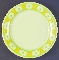 Franciscan China Picnic Earthenware Salad Plates