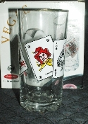 Pasabahce Vegas Full House Gold Rimmed Hiball Glass Set