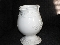 American Atelier Empress White Ironstone Beverage Pitcher