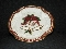 Fitz & Floyd Holiday Bells Canape Cookie Plate