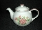 Corning Corelle Elegant Rose Six Cup Tea Pot