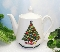 Mount Clemens Pottery Christmas Tree Teapot