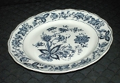 Nikko Harmony House Blue Bonnet Ironstone Dinner Plates
