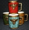 Napcoware American Eagle Barrel Mug Set