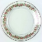 Arcoroc Holly Ribbon Dinner Plates