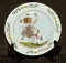 Newell Pottery Sarah Stilwell July Calendar Plate