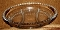 Imperial Glass Candlewick Three Part Relish Tray