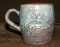Max Davlin Alaska Clay Juneau King Salmon Hand Sculpted Mug