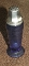Hazel Atlas Modertone Cobalt Blue Glass Shaker