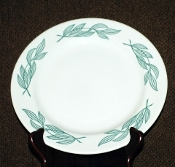Buffalo China Restaurant Ware Green Leaf Dinner Plates