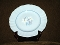 JG Meakin England White Alpine Hand Painted Dinner Plates