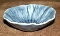 Metlox Poppytrail Lotus Medium Blue Coupe Soup Bowls