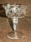 Libbey Rock Sharpe Needle Etched Grapevine Champagne Glasses