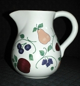 Princess House Orchard Medley 64 Oz Pitcher