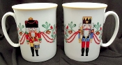 Block Spal Whimsy Christmas Mugs