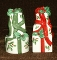 Lenox Holiday Packages Salt Pepper Shaker Set