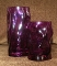 Bormioli Rocco Sorgente Deep Purple Double Old Fashion Glasses