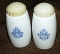 Corning Cornflower Blue Salt Pepper Shaker Set