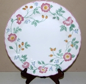 Churchill China Briar Rose Salad Plates