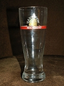Vintage Moosehead Lager Large Flared Pilsner Glasses