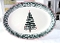 Furio Home Italy Christmas Tree Oval Platter