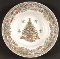 Queen's Seasons Greetings Rimmed Soup Bowls