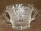 Federal Glass Heritage Clear Sugar Bowl