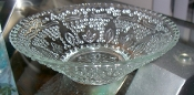 Federal Glass Heritage Clear Dessert Bowls