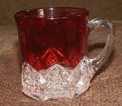 Duncan Miller  Ruby Stained Button Arch Mug
