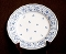 Nikko Blossom Time Blue Floral  Dinner Plates