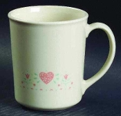Corning Corelle Forever Yours Tall Mugs
