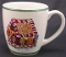 Radko Holiday Celebrations Gingerbread House Mugs