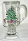 Cristal D'Arques Durand Holly Tree Irish Coffee Mugs