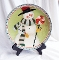 Oneida Fiddlestix Frosty Folks Salad Dessert Plate Set