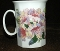Royal Garden Pink Freesia  Bone China Mugs