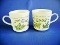 Corning Thymeless Herbs Coffee Cups