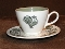 Taylor Smith & Taylor Summer Morn Cup Saucer Sets