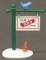 Dept 56  Snow Village For Sale Sign